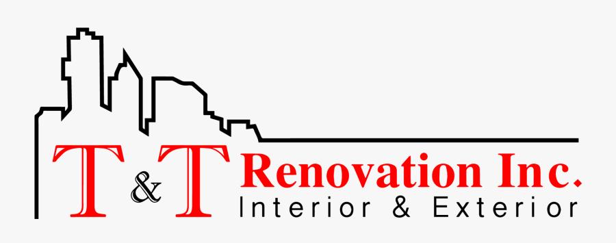 "T & T Renovation Inc""s Logo - New Home Renovation Company Logo, Transparent Clipart"