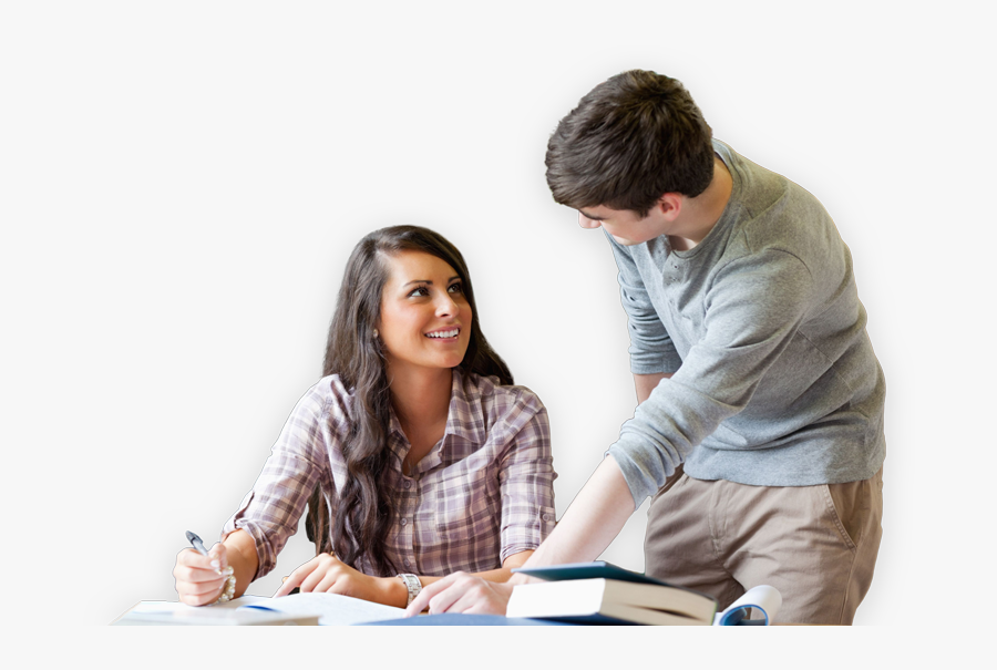 Student Studying Png - College Tutor, Transparent Clipart