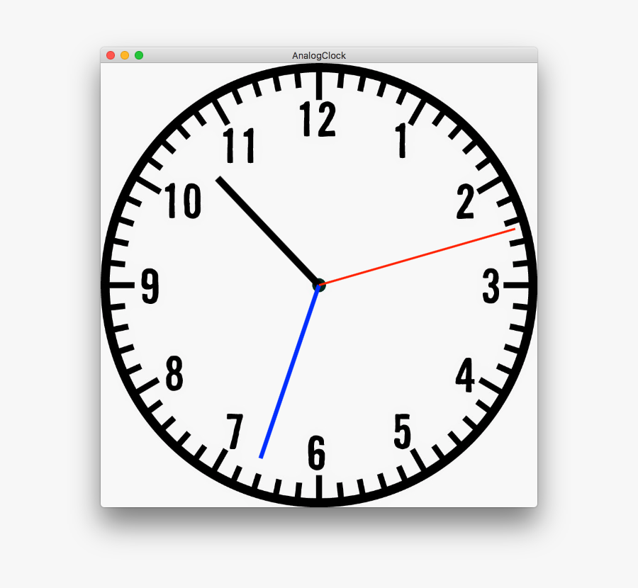 Timeline Drawing Clock - Draw The Hands Of The Clock, Transparent Clipart
