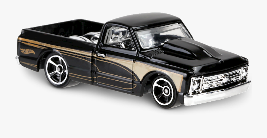 67 Chevy Pickup Hot Wheels, Transparent Clipart