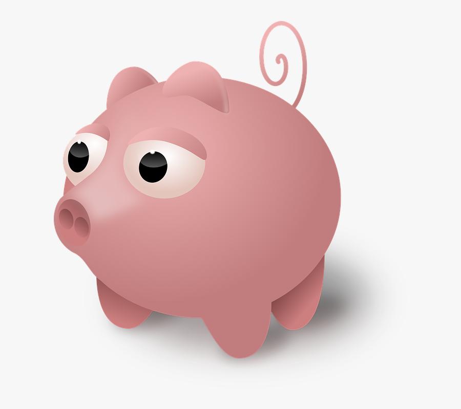 Animal, Pig, Cute, Pink - หมู น่า รัก การ์ตูน Png, Transparent Clipart