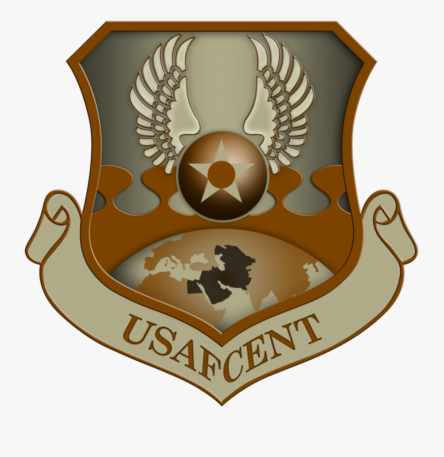 Free Air Force Legal Services Center Shield Clipart - United States Air Forces Central Command, Transparent Clipart