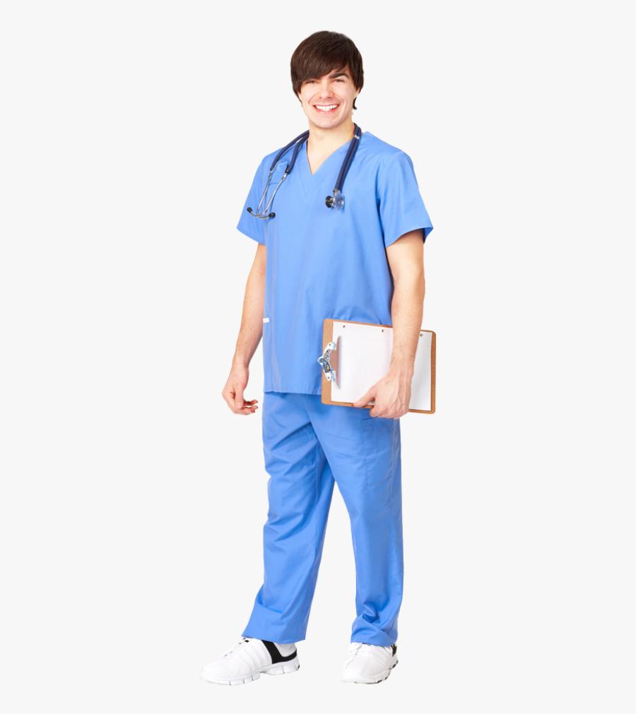 Male Nurse Png, Transparent Clipart