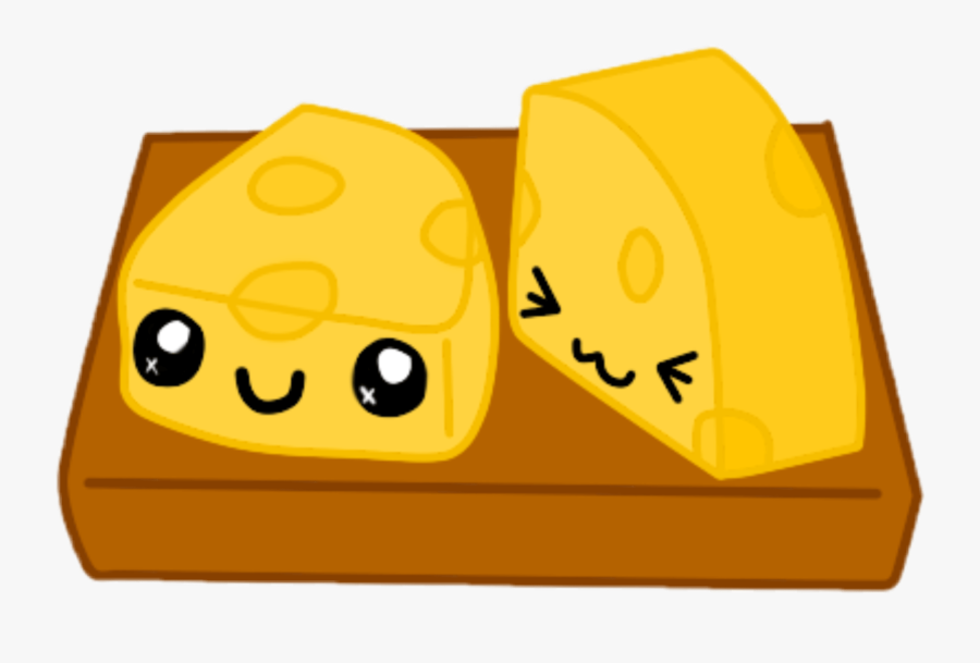 Freetoedit Cheese Kawaii Cute Adorbs - Kawaii Cheese, Transparent Clipart