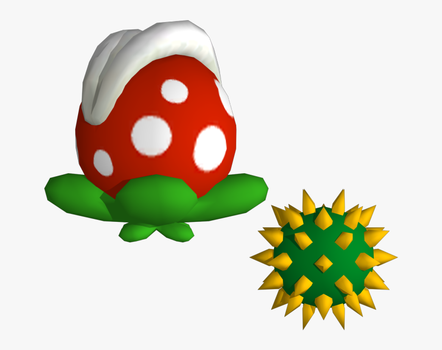 Mario Bros Clipart Piranha Plant - Piranha Plant New Super Mario Bros Wii, Transparent Clipart