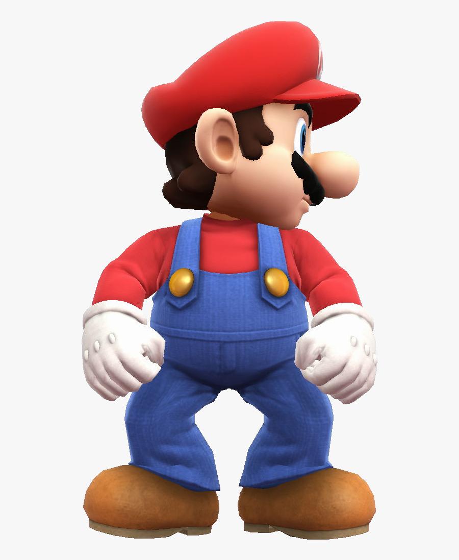 Transparent Mario Bros Png - Smash Bros Mario Png, Transparent Clipart