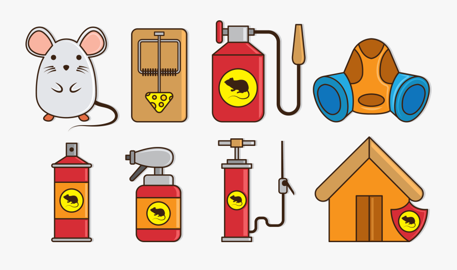 Gas Clipart Insect Spray - Mousetrap, Transparent Clipart