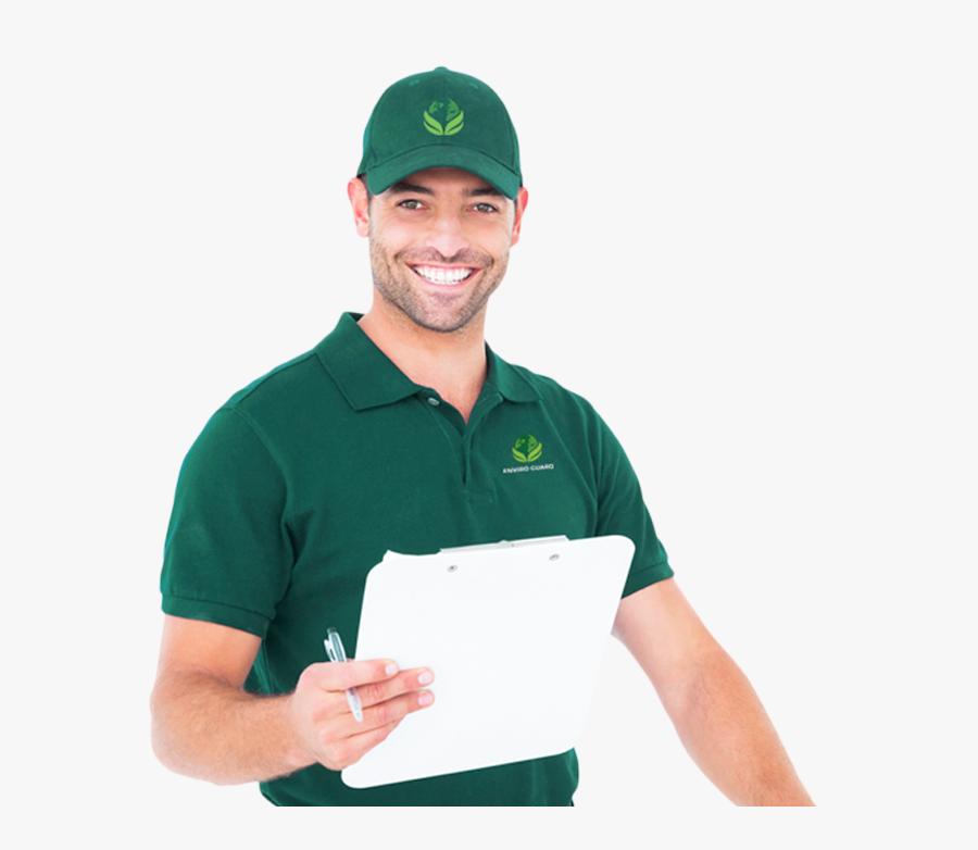 Pest Control Guy, Transparent Clipart