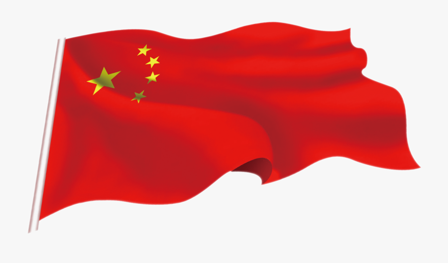 19th National Congress Of The Communist Party Of China - China Flag Transparent Png, Transparent Clipart