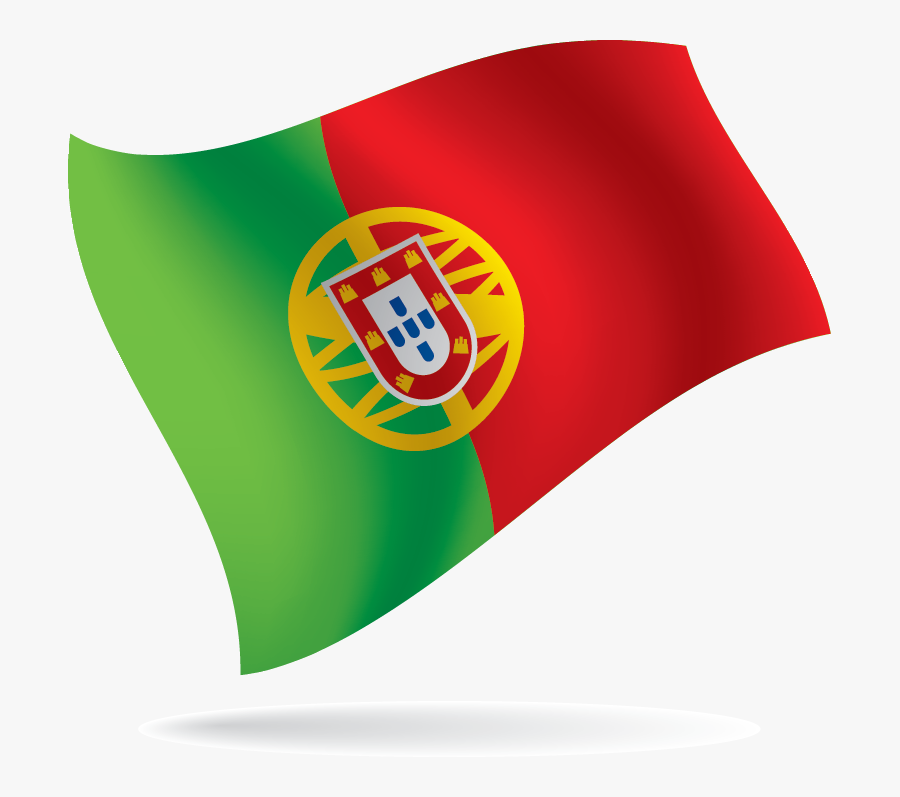 Flag - Png Format Portuguese Flag Png With Alpha, Transparent Clipart