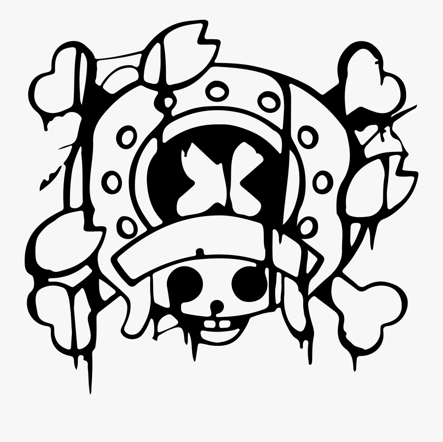 Image Id One Piece Chopper Jolly Roger Free Transparent Clipart Clipartkey
