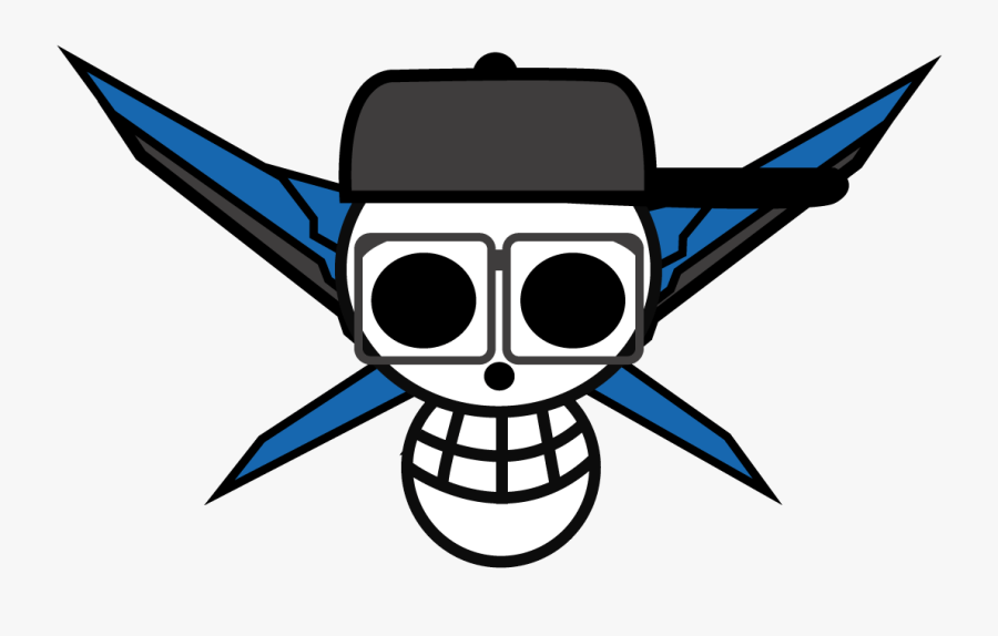 Jolly Roger One Piece Custom Png, Transparent Clipart