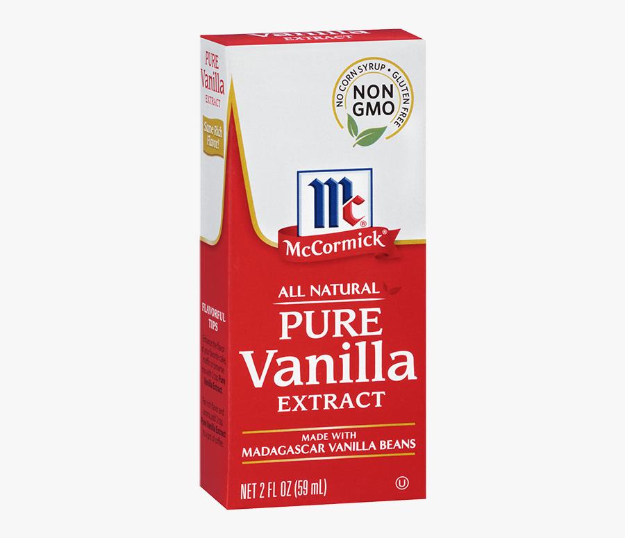 Mccormick® Pure Vanilla Extract - Mccormick Pure Vanilla Extract, Transparent Clipart
