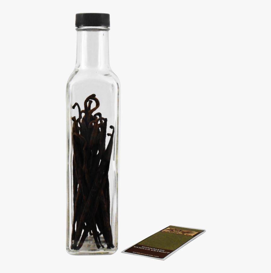 Madagascar Homemade Vanilla Extract Starter Kit - Glass Bottle, Transparent Clipart