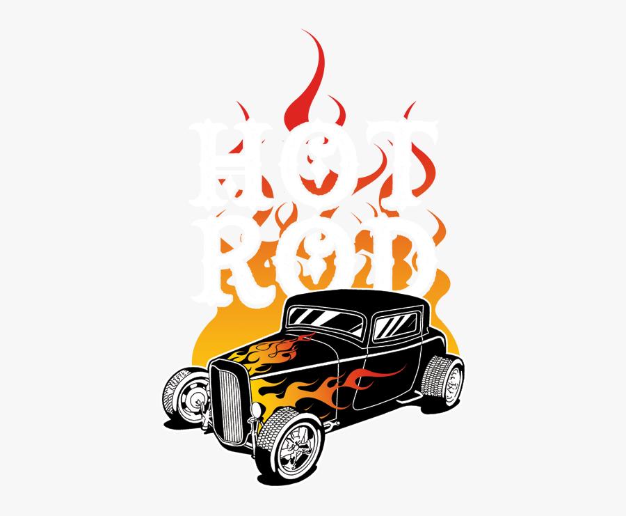 Hot Rod Flames Png - Cartoon Hot Rod Flames, Transparent Clipart