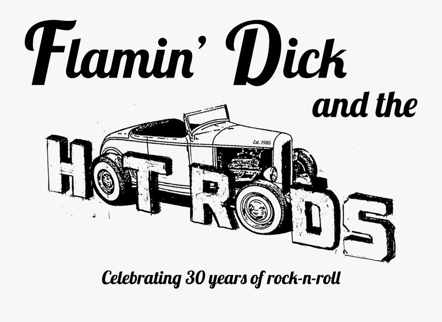 Clip Art Flamindickandthehotrods - Drums, Transparent Clipart