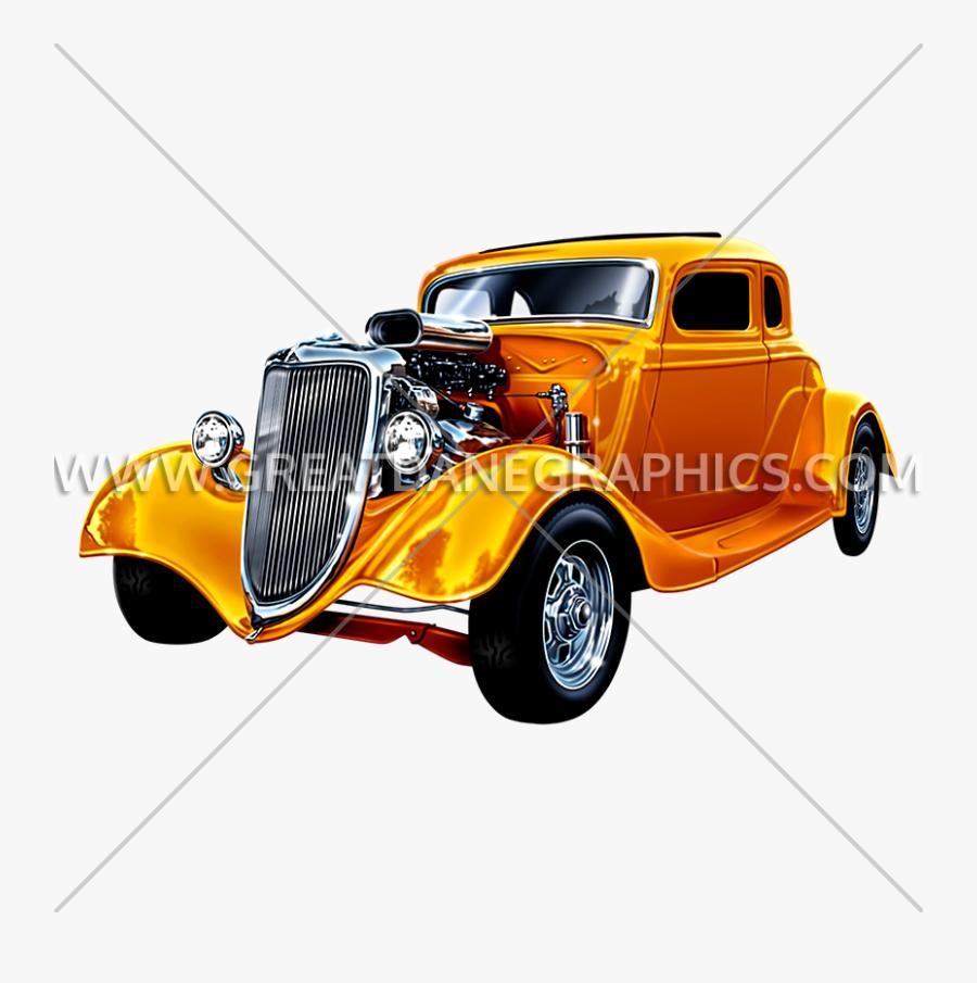 Hot-rod - Antique Car, Transparent Clipart