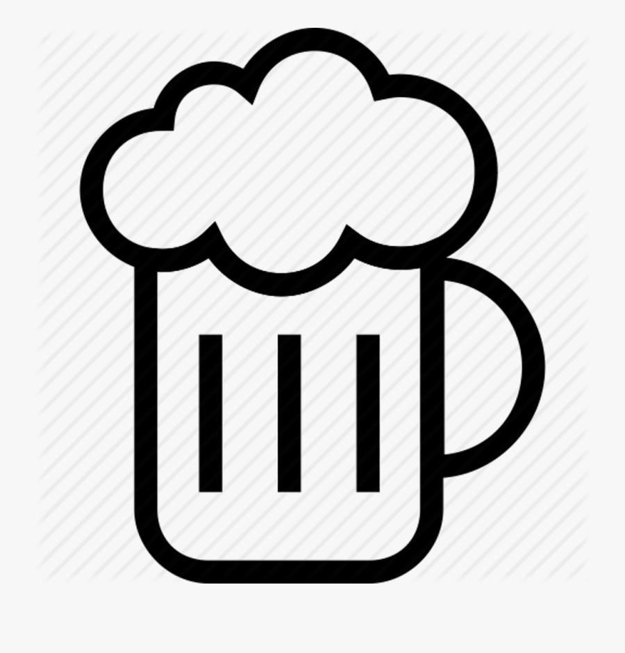 Beer Mug Beer Symbol, Transparent Clipart
