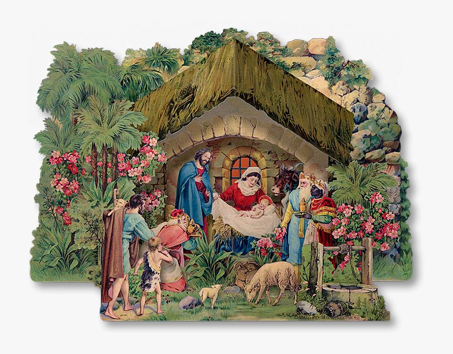 The Wild Rose Nativity Would Make A Fine Addition To - Kubasta Betlehem Gloria Excelsis Deo, Transparent Clipart