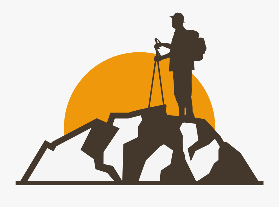 Logo Vector Graphics Graphic Design - Mountaineer Vector Png, Transparent Clipart
