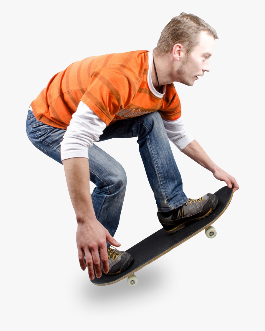 The Mountains Divider - Skater Png, Transparent Clipart