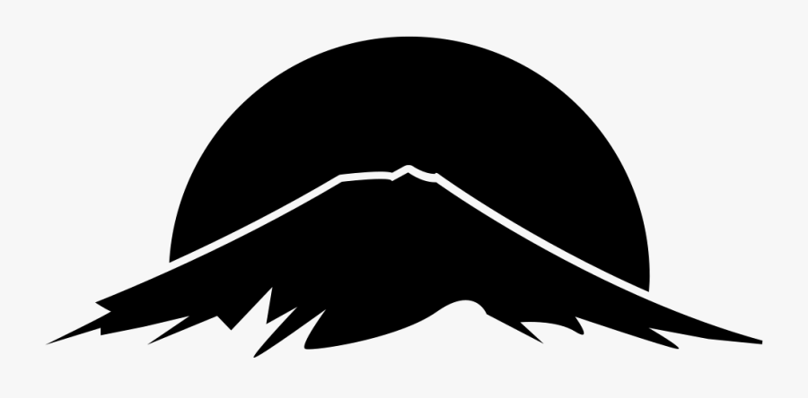 Mountain Logo Png Icon, Transparent Clipart