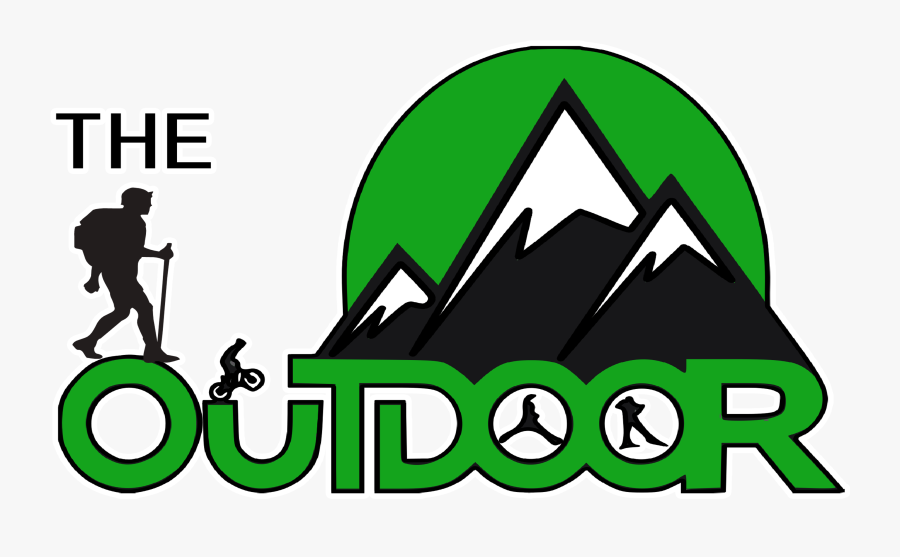 Hiker Clipart Steep Mountain - Outdoor Camping Logo Png, Transparent Clipart