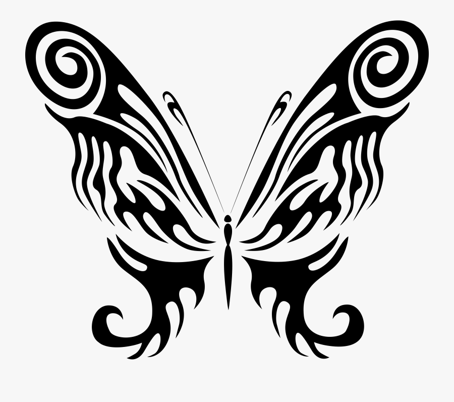 Butterfly Design Clipart Butterfly Wing - Anime Butterfly Wings Drawings, Transparent Clipart