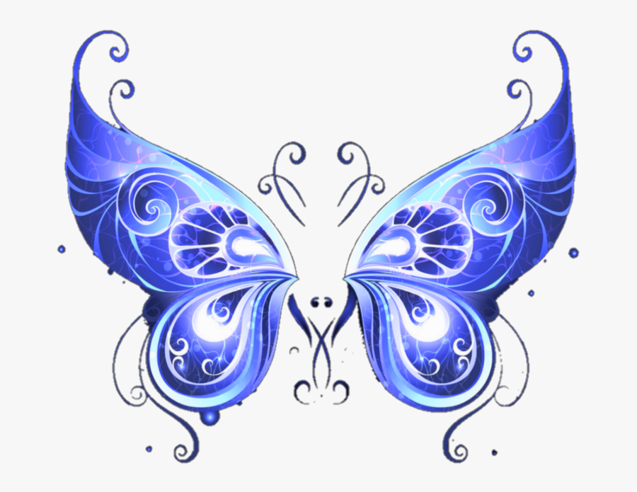 #wings #butterflywings #butterfly #picsart #aesthetic - Swallowtail Butterfly, Transparent Clipart