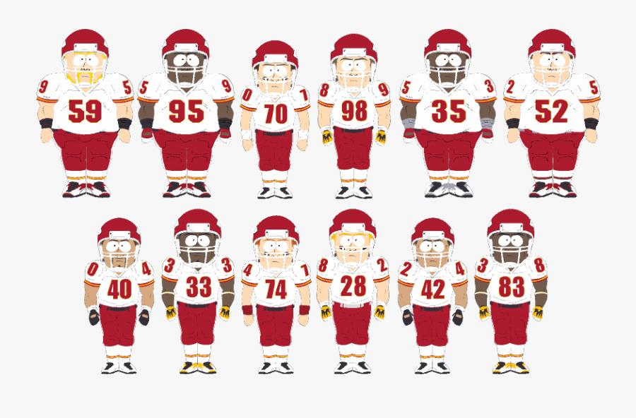 Southpark Chiefs, Transparent Clipart