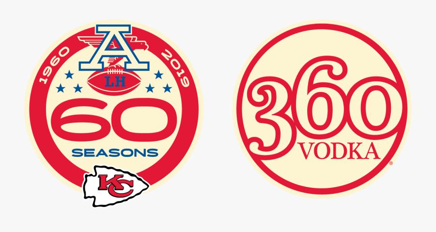 Kansas City Chiefs 60th Anniversary, Transparent Clipart