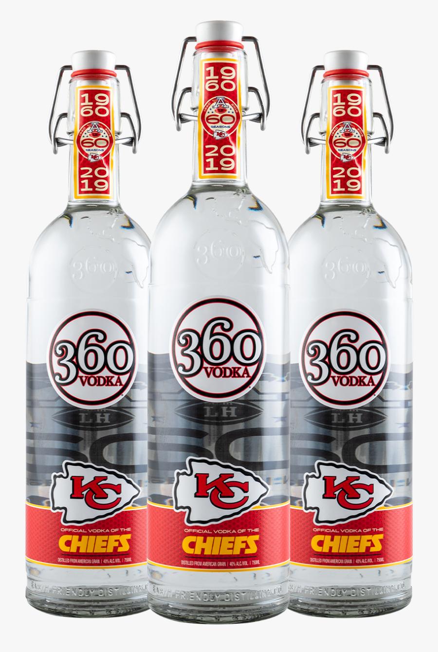 360 Vodka Kansas City Chiefs, Transparent Clipart