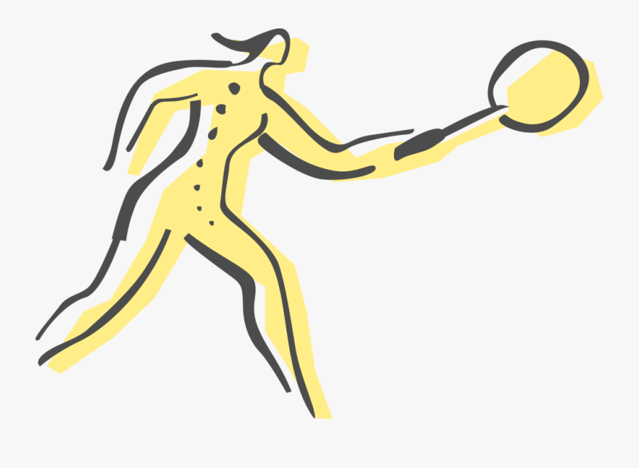 Badminton Player With Image - Badminton, Transparent Clipart