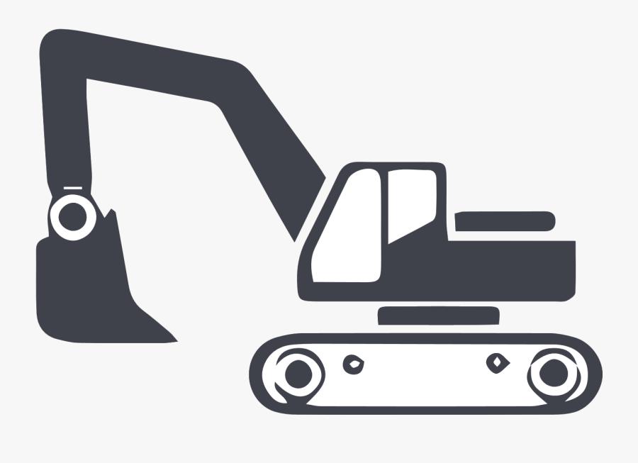 Excavator Clipart Excavation - Drilling And Excavation Icon, Transparent Clipart