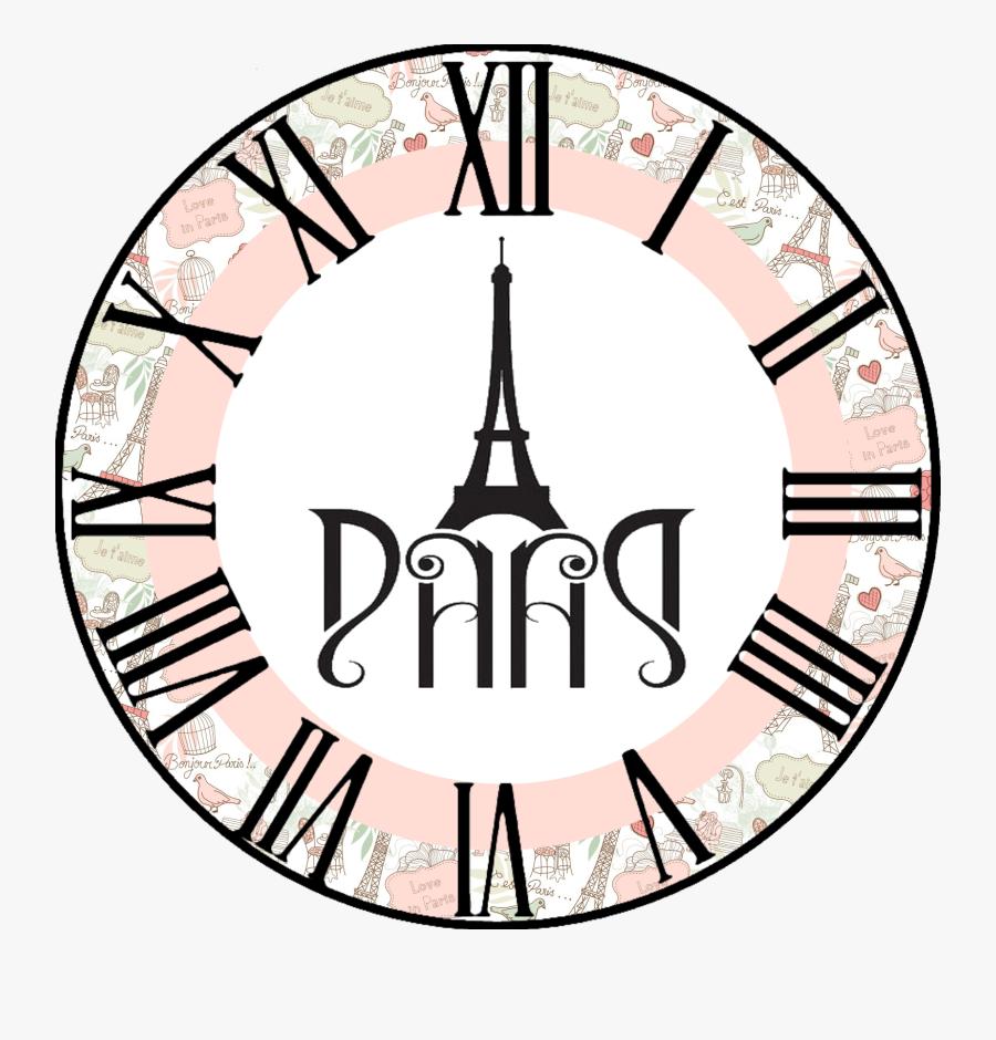 Clock Faces, Decoupage Paper, Jpg, What Time Is, Dibujo, - Vintage Printable Clock Faces, Transparent Clipart