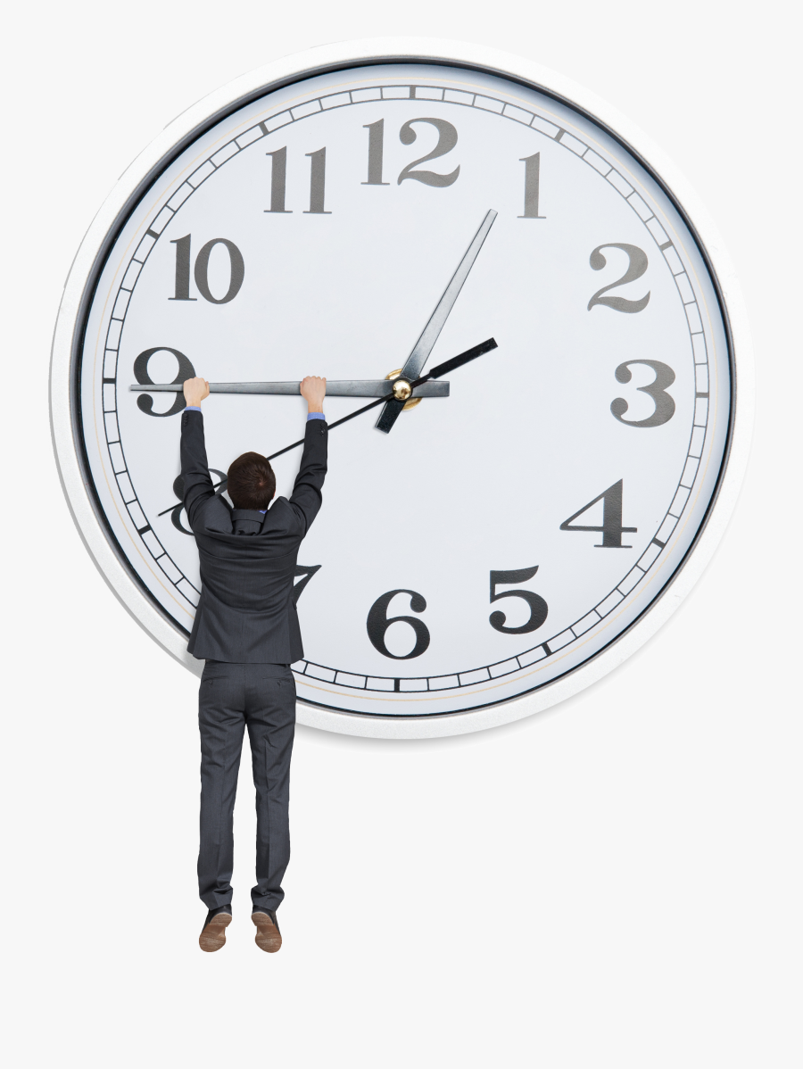 Transparent White Clock Png - Time Changing, Transparent Clipart