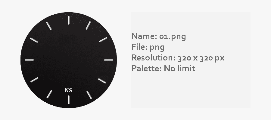 Watch Face Template Png - Circle, Transparent Clipart