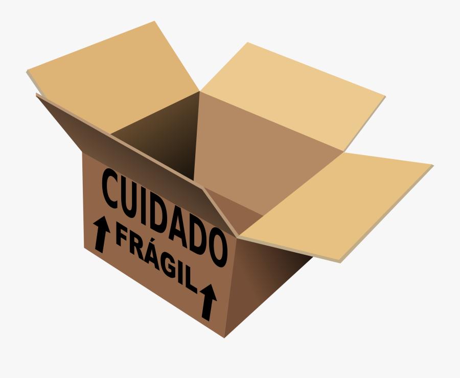 Fragile Box Clipart , Png Download - Vector 3d Cardboard Box Png, Transparent Clipart