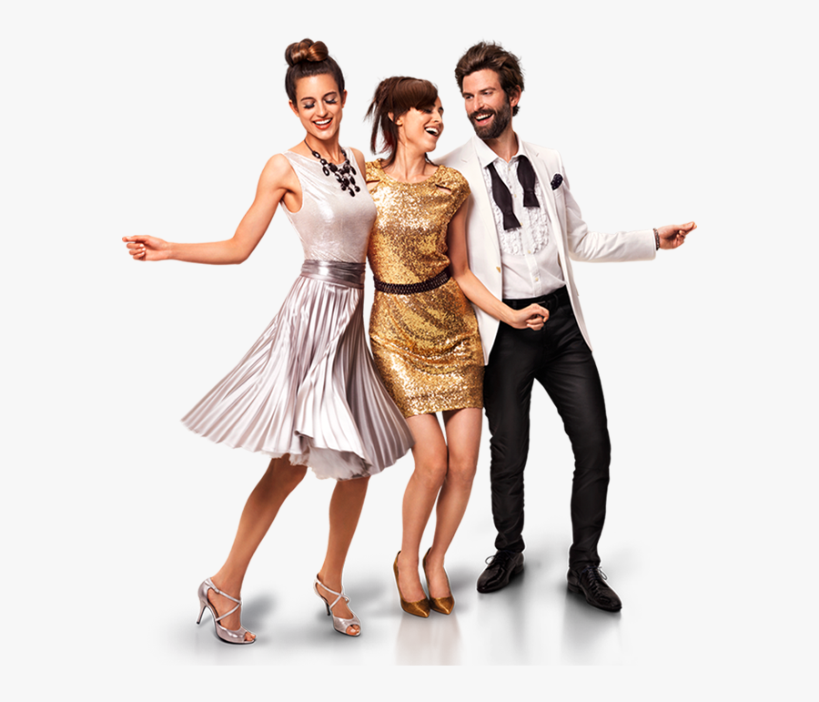 Party People Png Page - Dancing Party People Png, Transparent Clipart