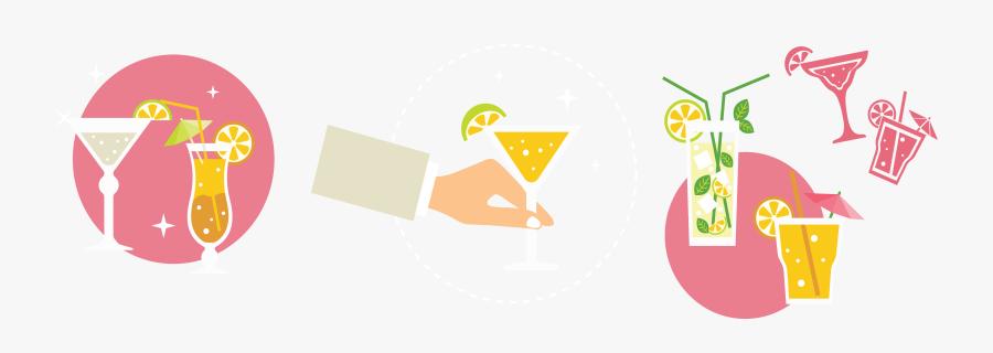 Clip Art Party Icon Transprent - Cocktail Party Party Illustration, Transparent Clipart