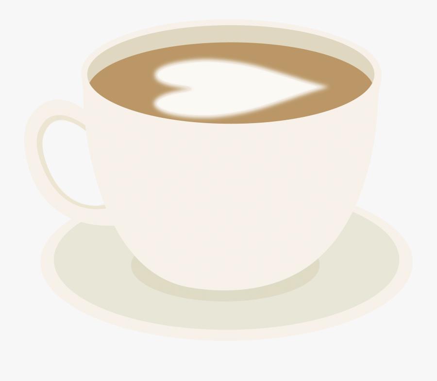 Cute Coffee Cup Clip Art - Good Friends Drink Coffee, Transparent Clipart