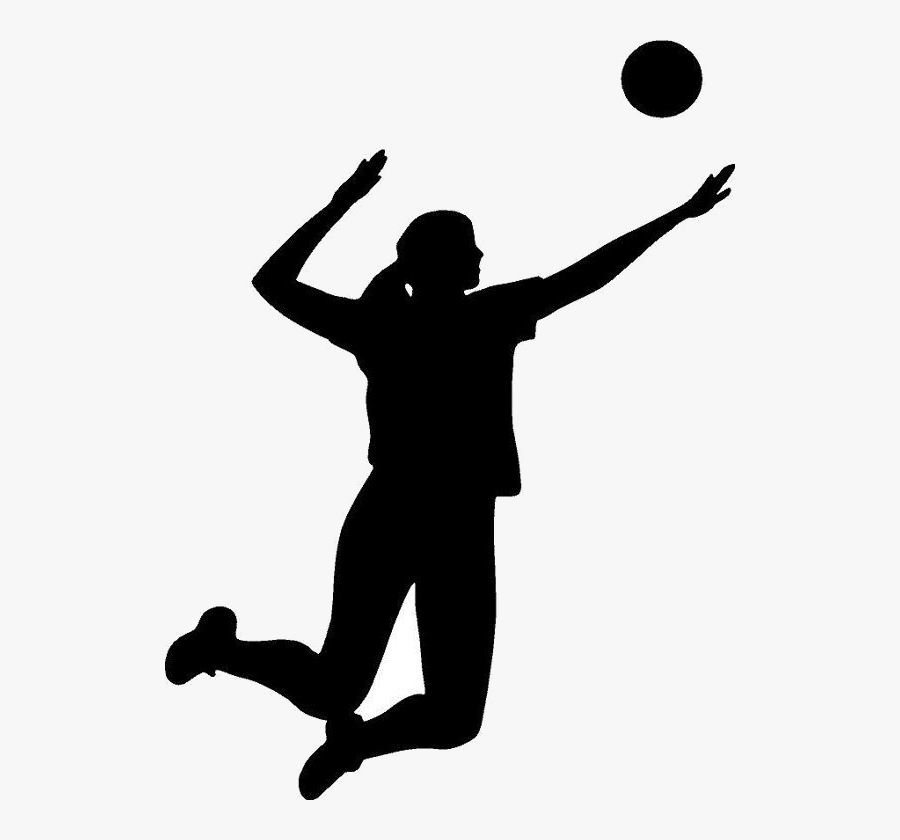 Volleyball Playing Clipart Clip Art Images Clipartcow - Volleyball Player Transparent Background, Transparent Clipart