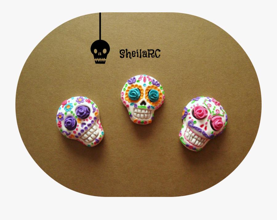 Sugar Skull Mold - Skull, Transparent Clipart