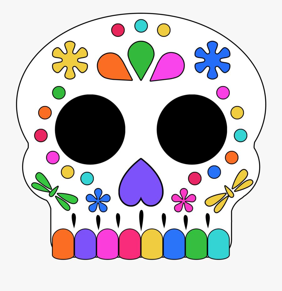 Coco Skull Jpg Printable, Transparent Clipart