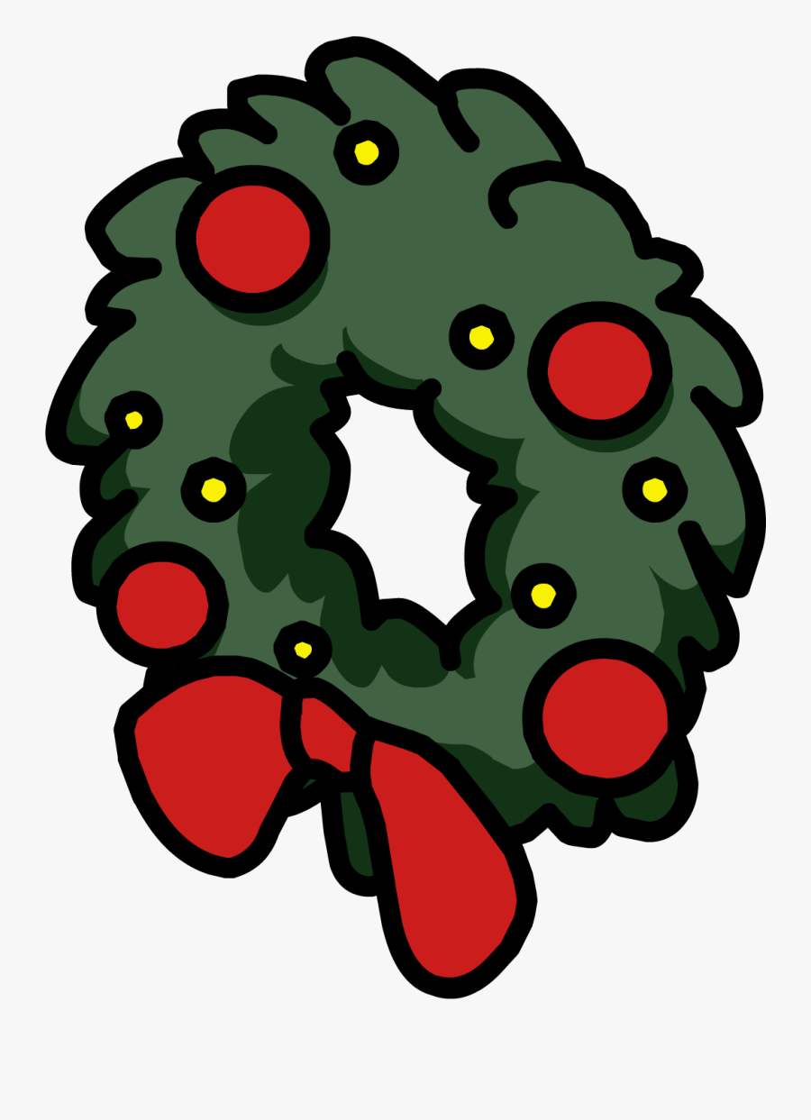 Holiday Wreath, Transparent Clipart