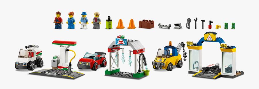 Lego City Gas Station 2019, Transparent Clipart