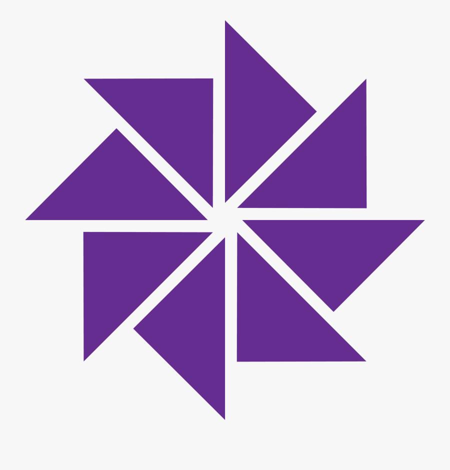 Clip Art Pinwheel Logo - Canton Country Day School Logo, Transparent Clipart