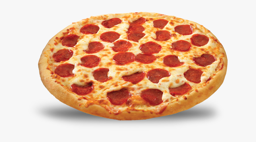 Cheesy Pepperoni Pizza Png, Transparent Clipart