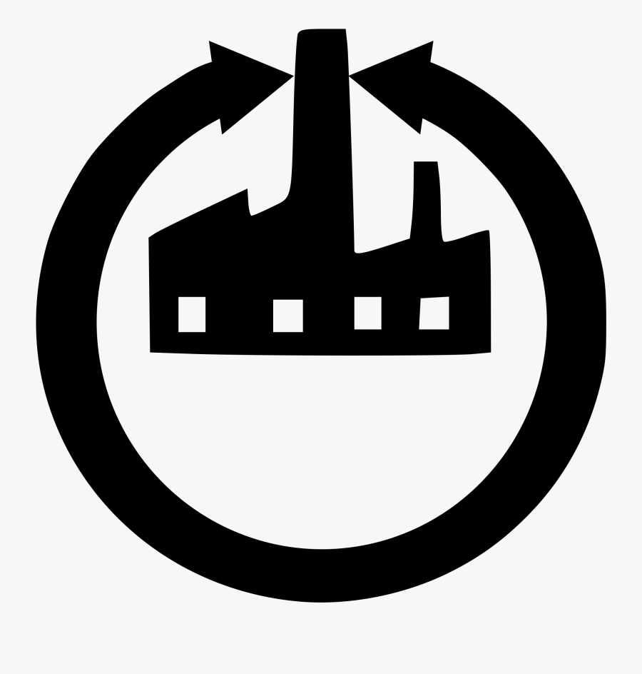Factory Clipart Factory Symbol - Factory Reset Icon, Transparent Clipart