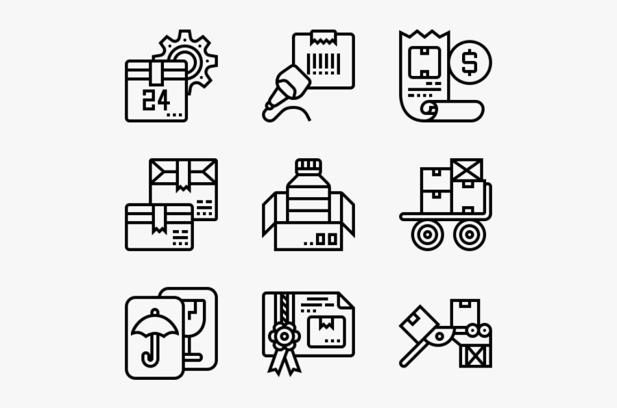 Shipping - Programming Language Icon, Transparent Clipart